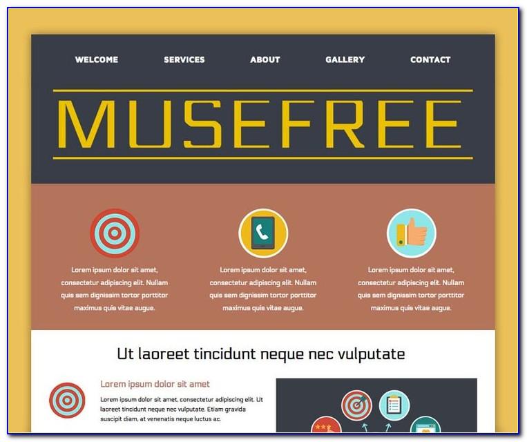 Wordpress Template Adobe Muse