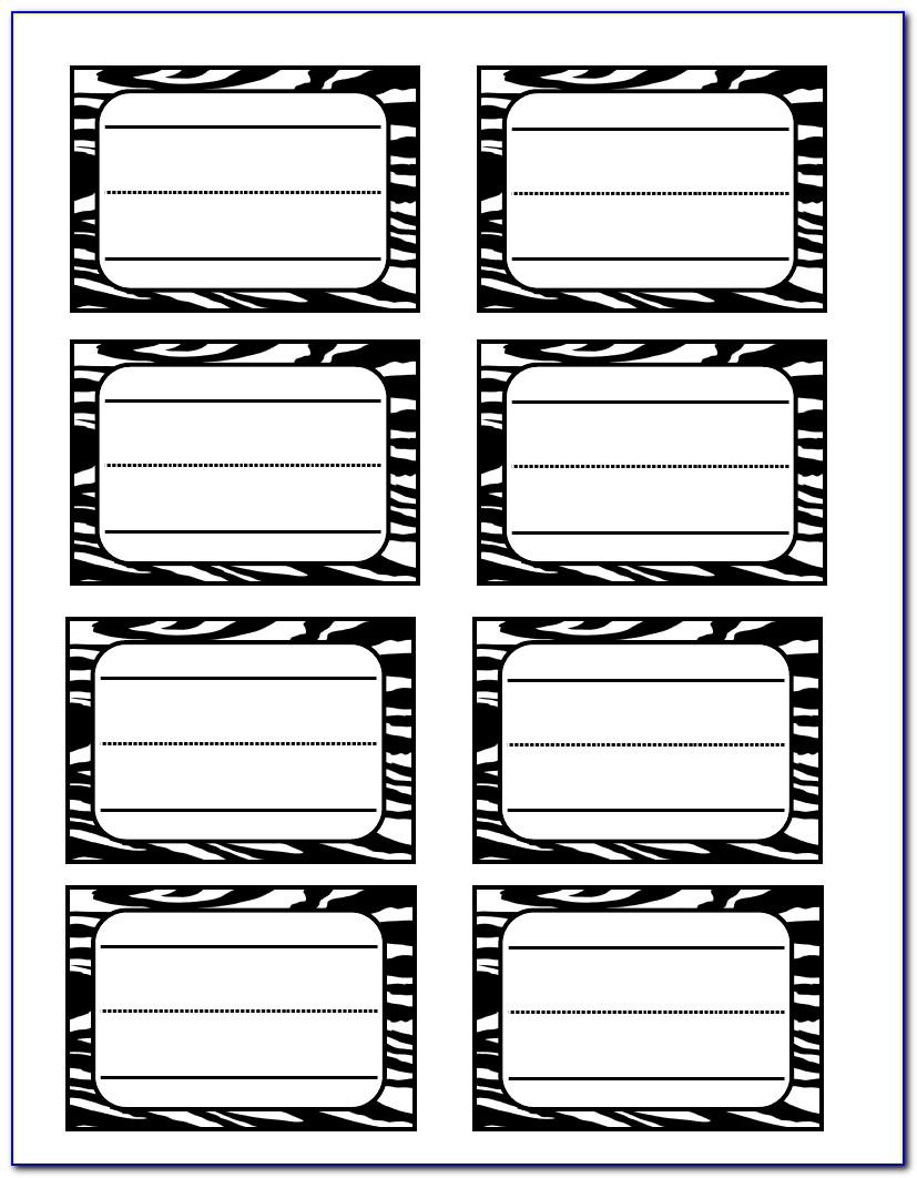 Zebra Printer Label Setup