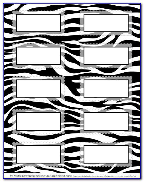 Zebra Printer Label Template Word