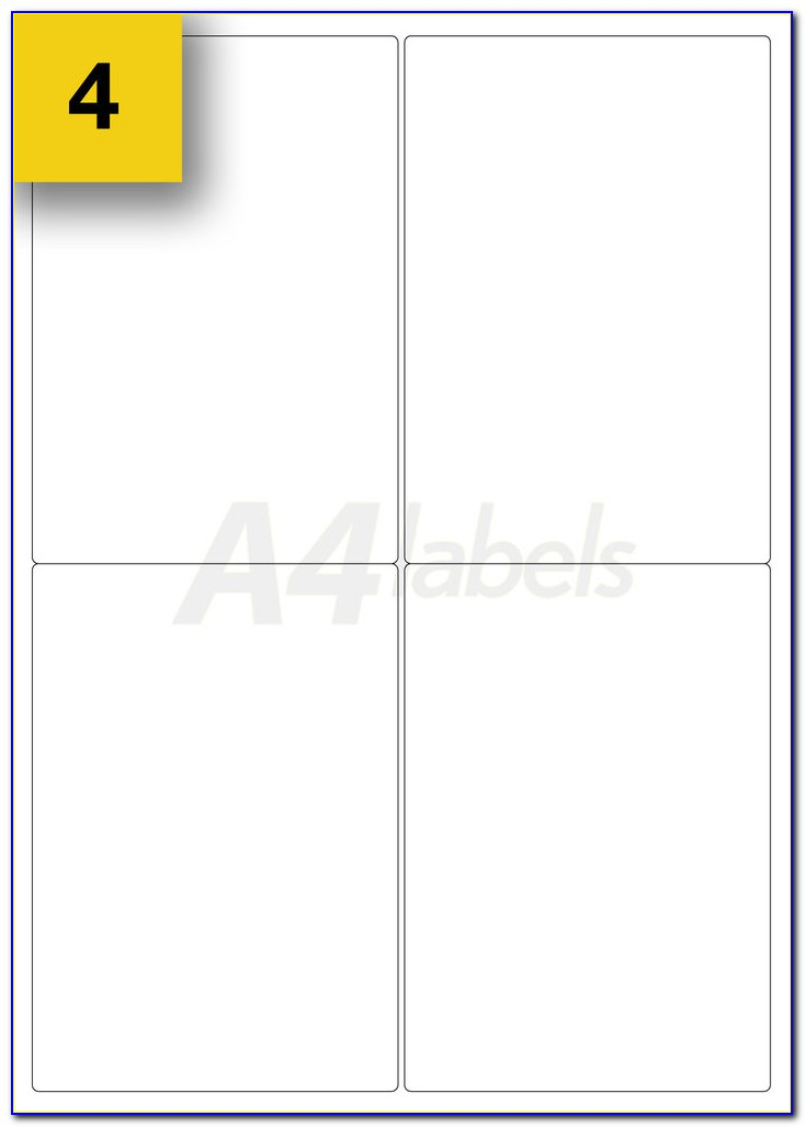 Zepstick Self Adhesive Labels Template