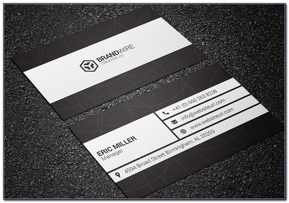 3.5 X2 Business Card Template Illustrator