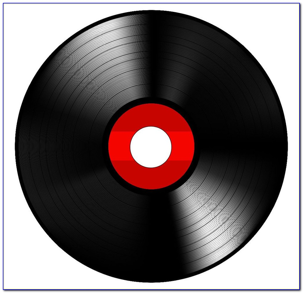 45 Vinyl Record Label Template