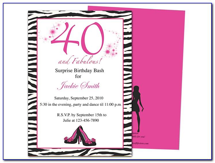60th Birthday Party Program Template