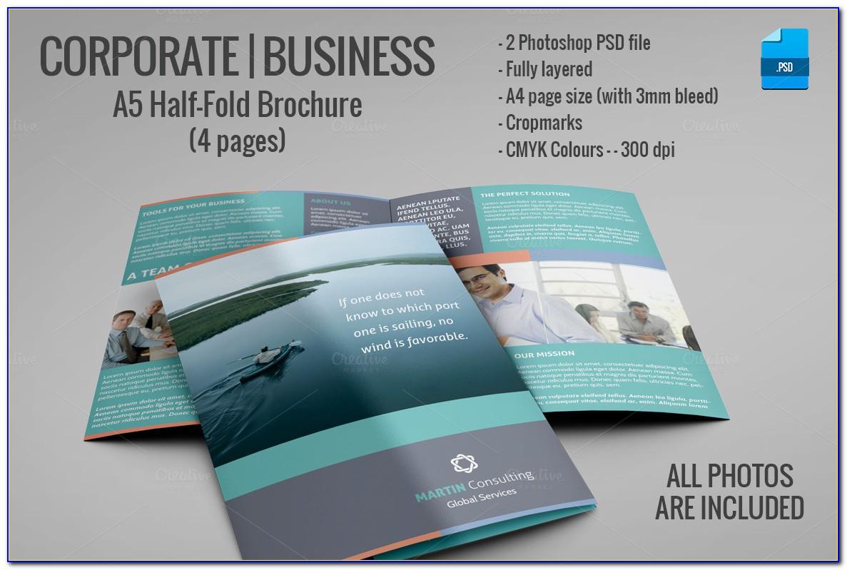 8.5 X 14 Brochure Template Indesign