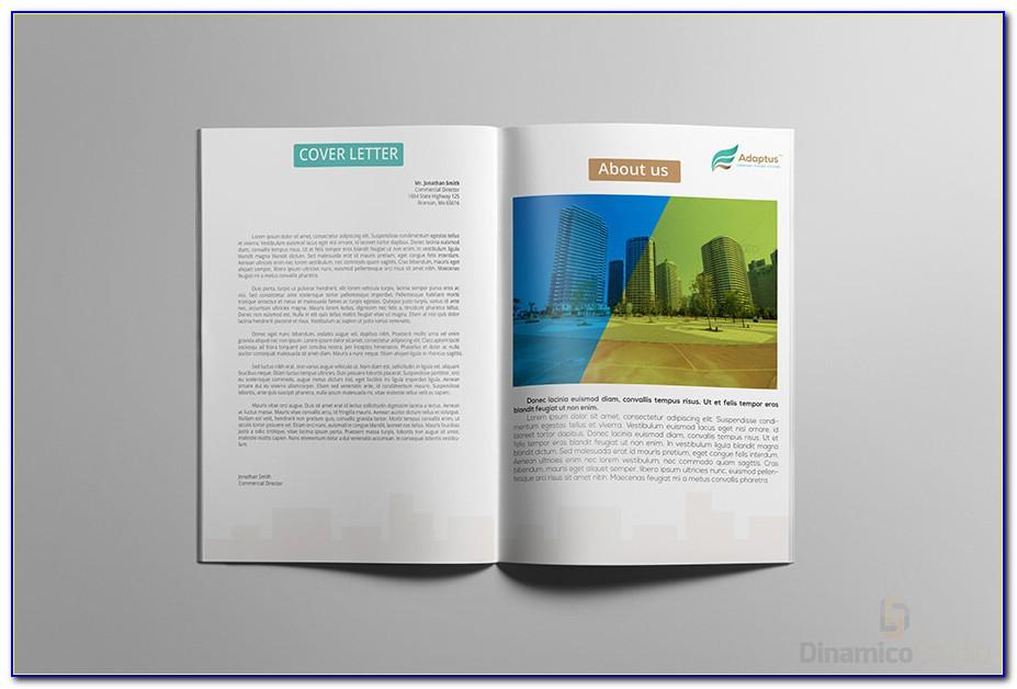 8.5 X 14 Brochure Template Word