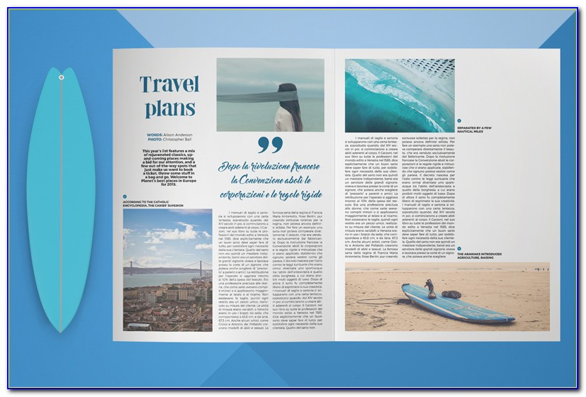 8.5 X 14 Quad Fold Brochure Template
