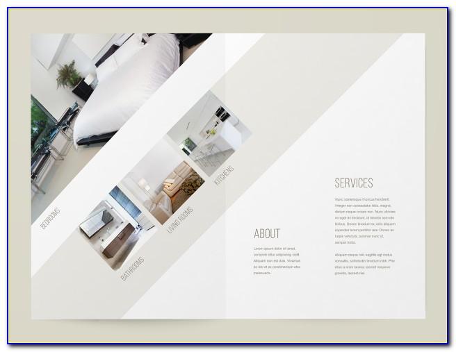 8.5 X 14 Roll Fold Brochure Template