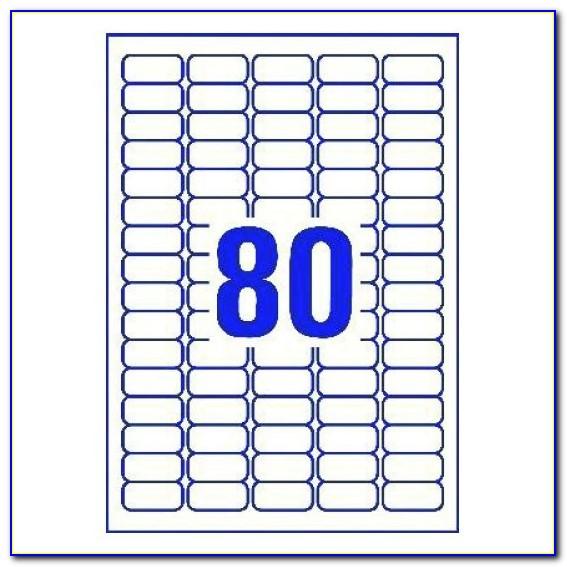 80 Labels Per Sheet Template Word