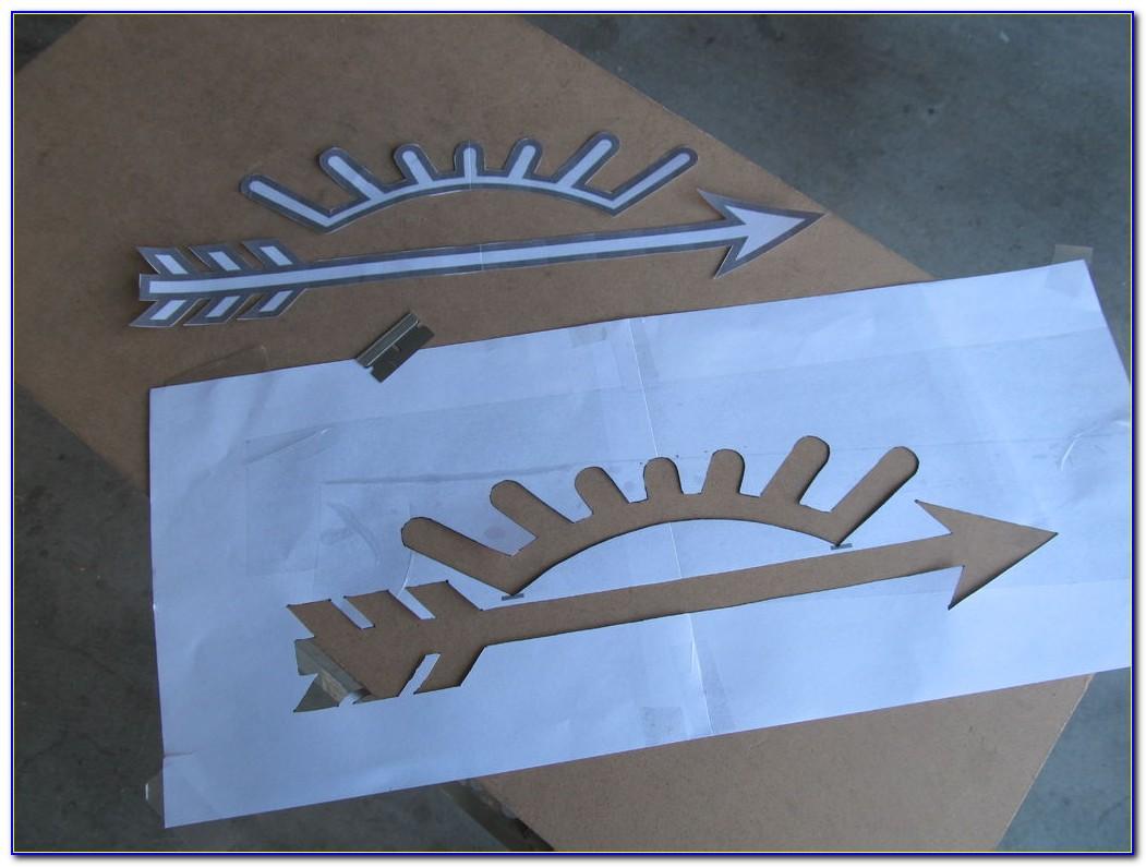 Arrow Of Light Plaque Template