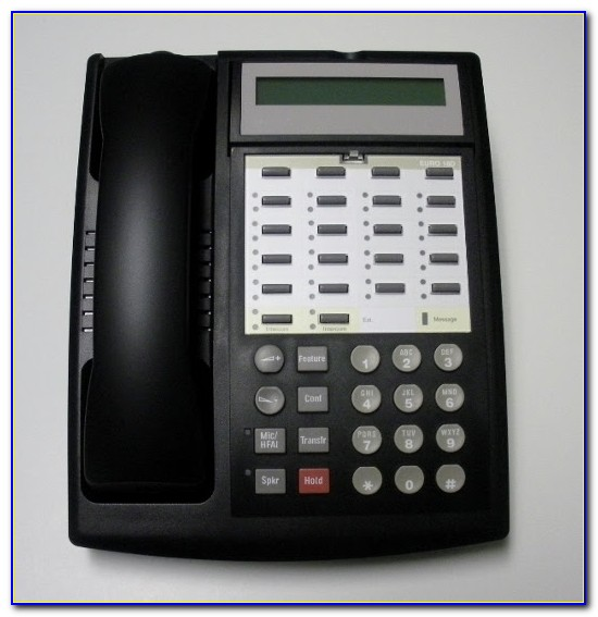 Avaya 1408 Phone Label Template