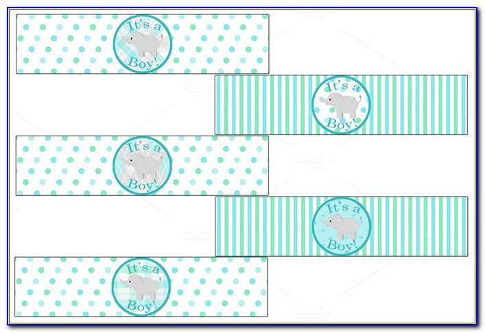 Avery Baby Shower Label Templates