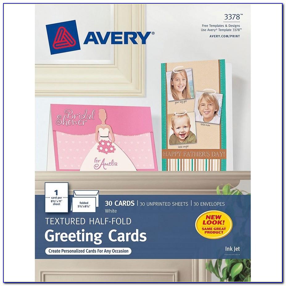 Avery Blank Greeting Card Templates