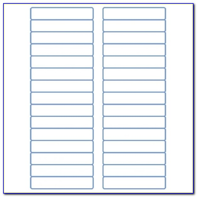 "File Folder Labels Laser Labels Inkjet Labels 2/3"" X 3 7/16 Within Template Avery 5366"