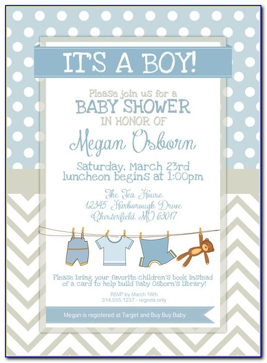 Baby Birthday Invitation Card Template Free Download