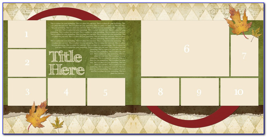 Baby Photo Book Template Free