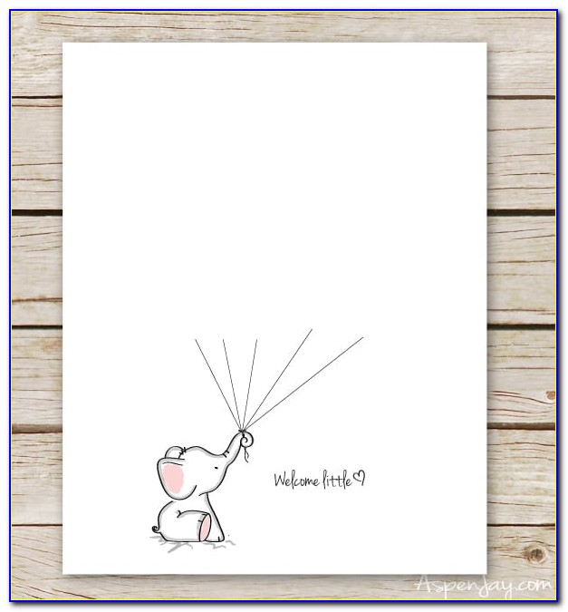 Baby Shower Guest Book Template Free