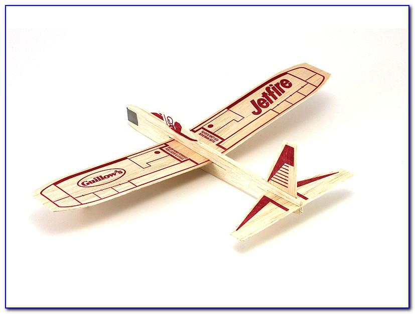 Balsa Wood Model Airplane Template
