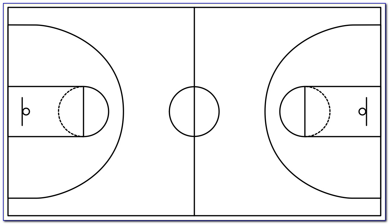 Basketball Court Designs Templates