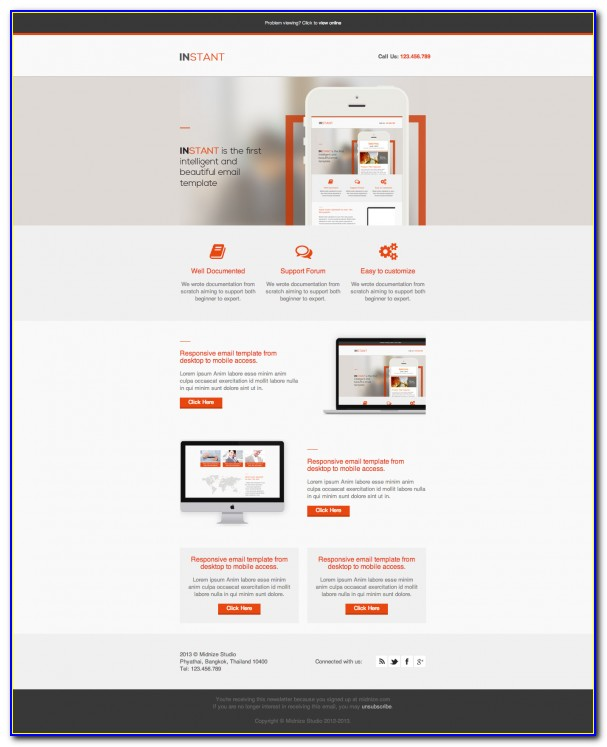 Beautiful Html Email Template
