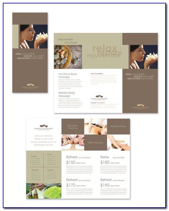 Beauty Salon Brochure Template Free Download