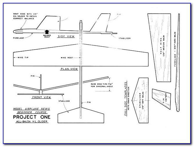 Best Balsa Wood Airplane Designs