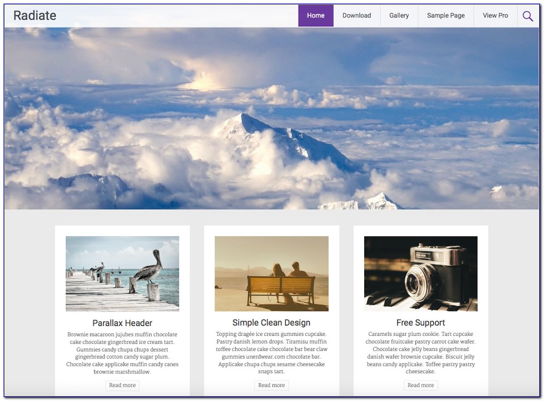 Best Blogging Templates Wordpress