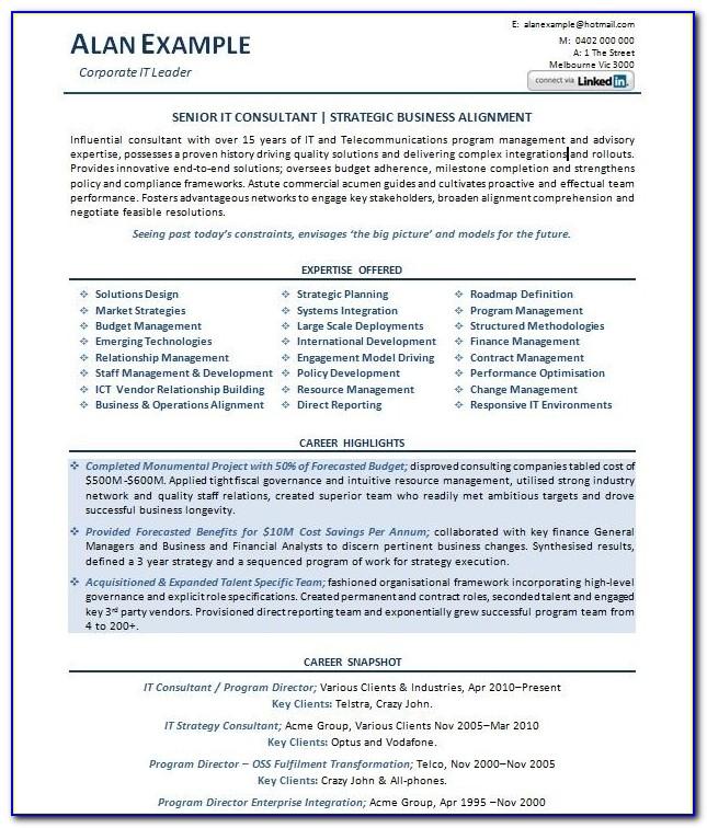 Resume Examples Australia   Professional Resume Example Throughout Professional Resume Template In Australia