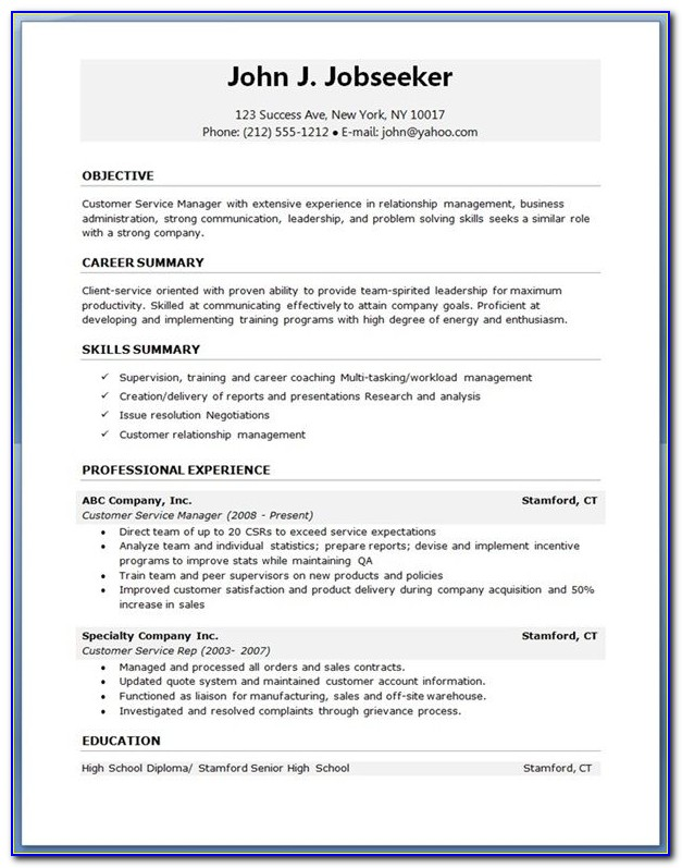 Best Resume Templates Free Download Best 25 Resume Template Pertaining To Best Professional Resume Format Download