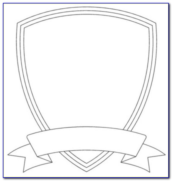 Blank Badge Template