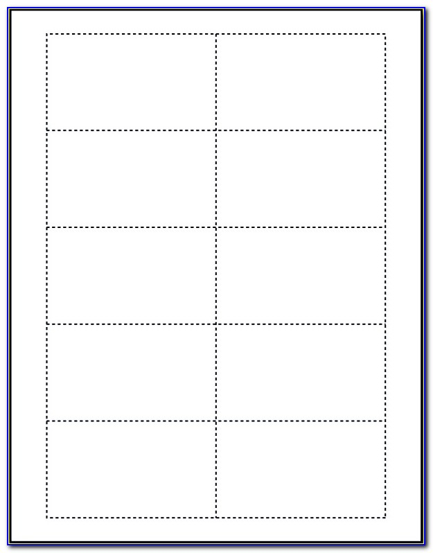 Blank Business Card Template Download Photoshop