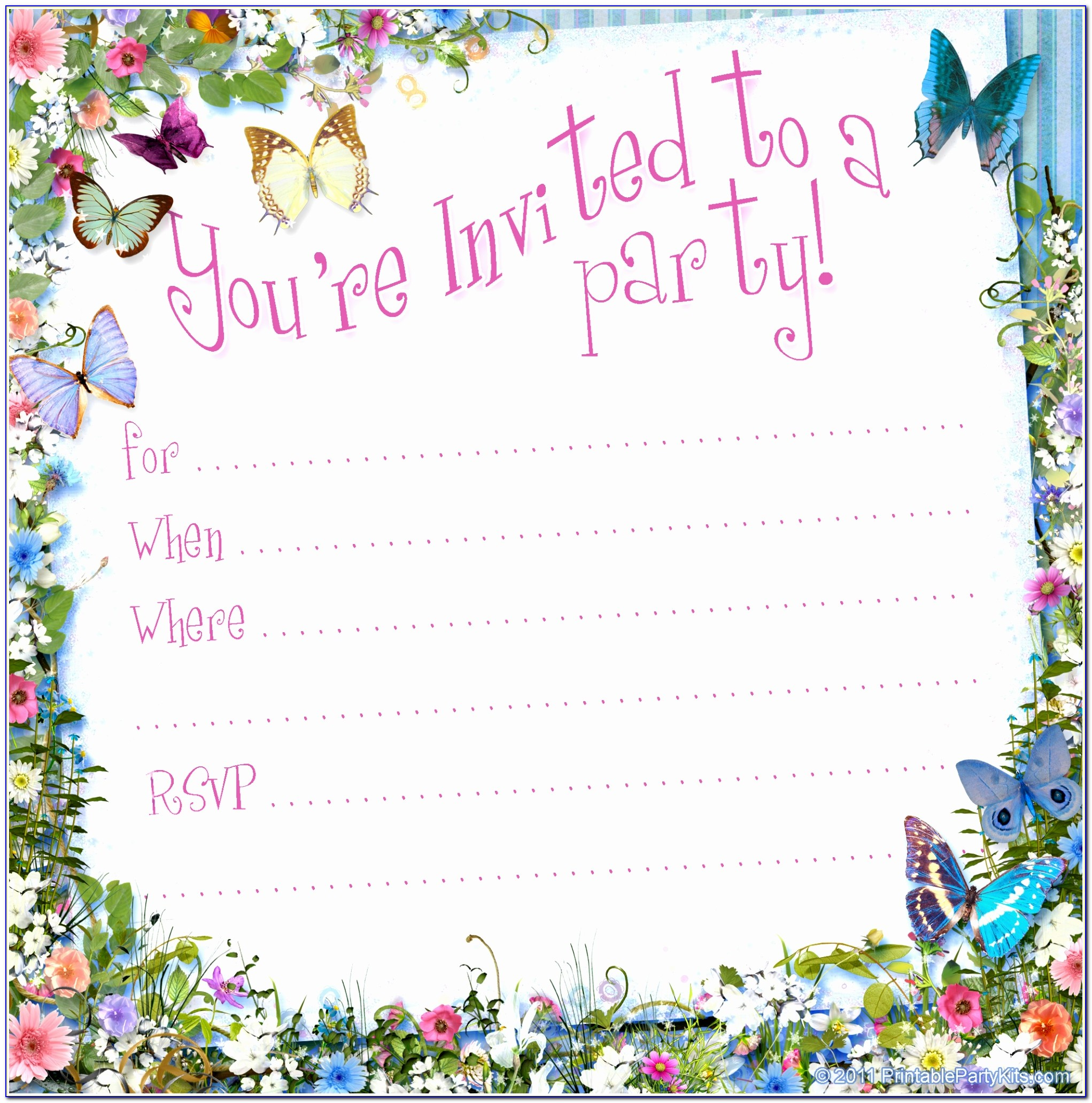 Ideas Collection Fancy Free Blank Party Invitation Templates 5 Free Free Blank Invitation Templates For Word Beautiful Pdf Word Excel Best Templates Urwoi
