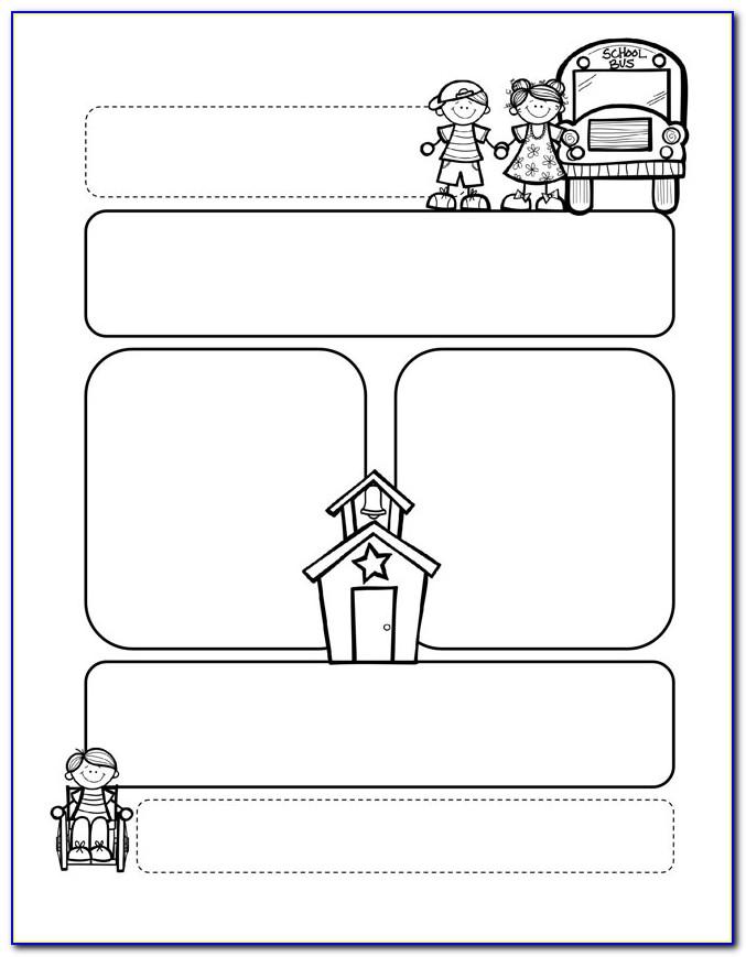 Blank School Newsletter Template