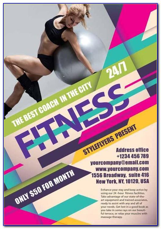 Brochure Templates Fitness