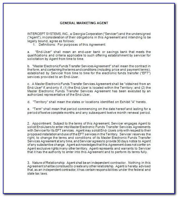 Broker Agreement Sample
