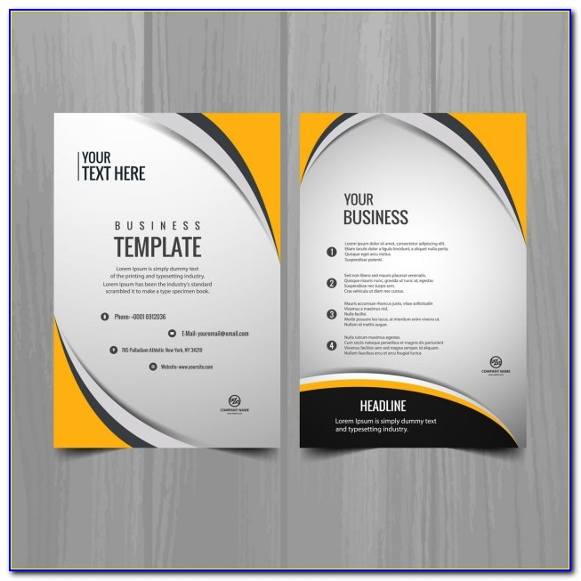 Business Brochure Template Psd Free