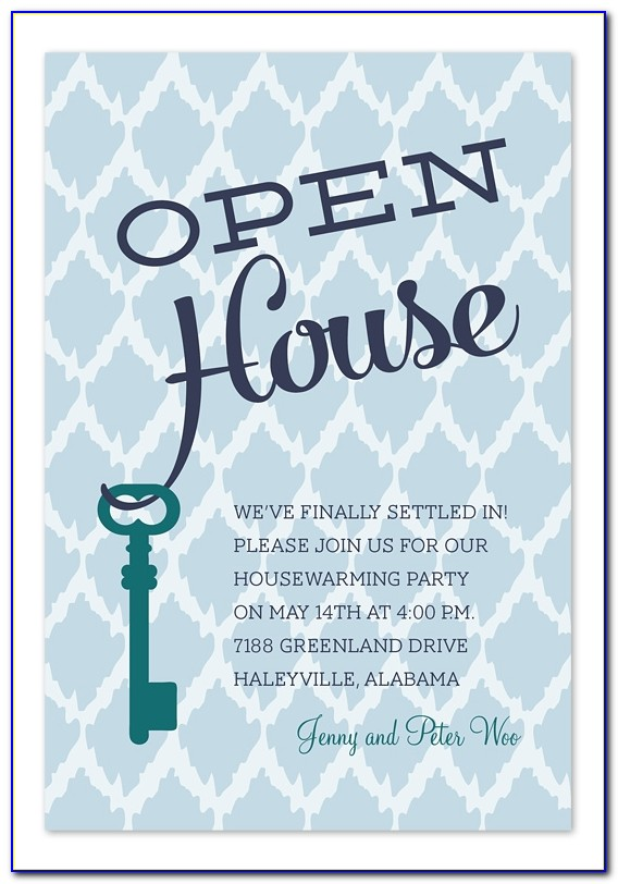 Open House Invitations For Corporations Invitationconsultants Business Open House Invitation Template