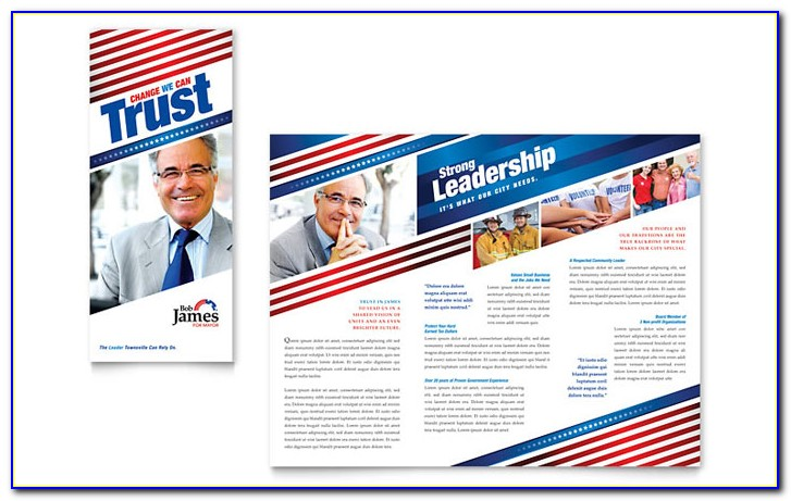 Campaign Brochure Layout