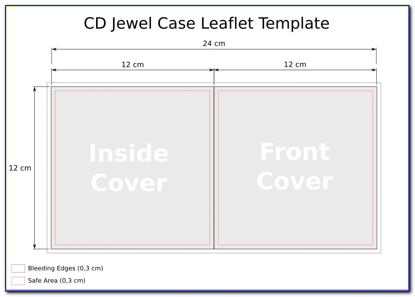 Cd Jewel Case Insert Template Word