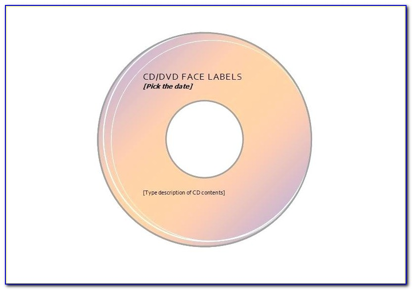 Cd Label Templates For Mac
