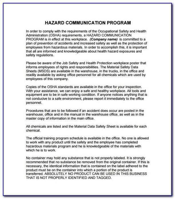 10+ Communication Plan Templates – Free Sample, Example, Format Inside Hazard Communication Program Template
