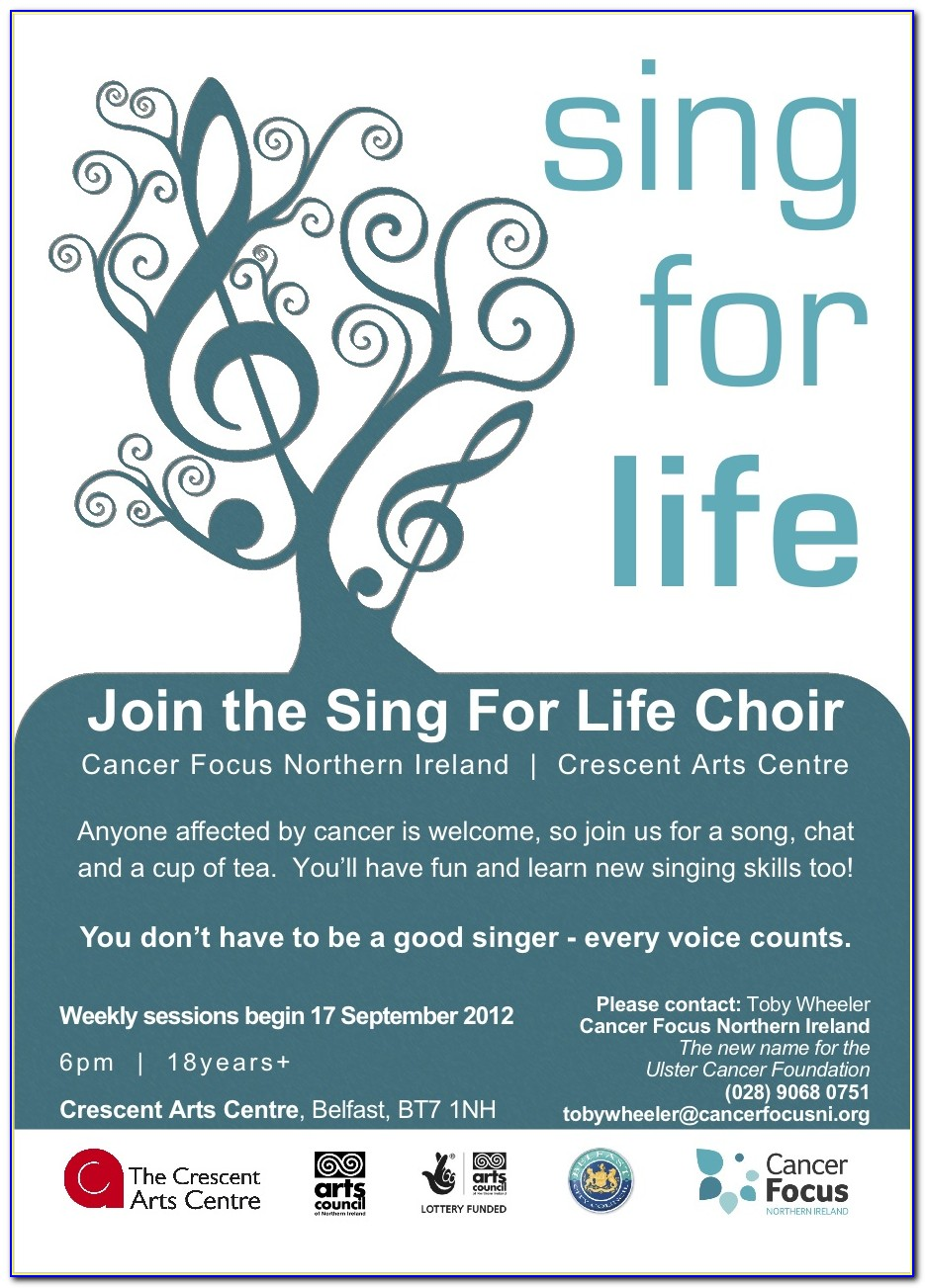 Choir Recruitment Flyer Template