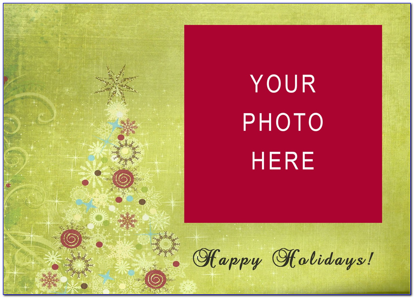 Christmas Card Templates For Photographers Free