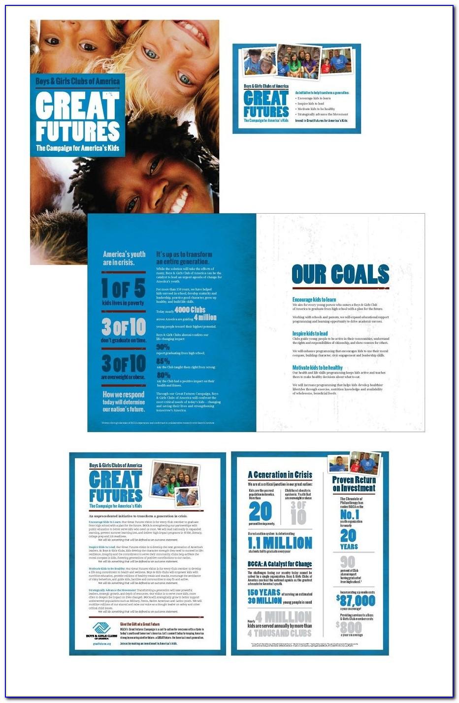 Church Capital Campaign Brochure Template