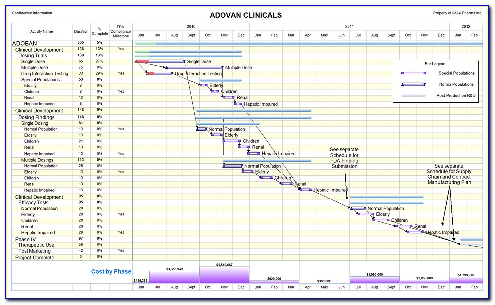 Clinical Trial Project Management Plan Template