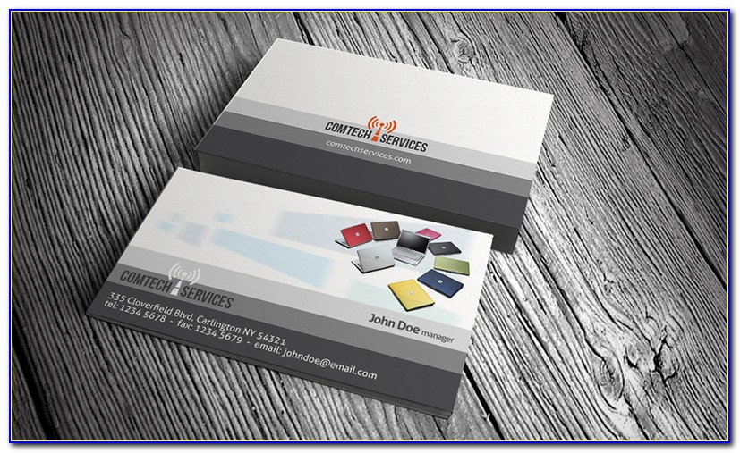 Computer Repair Business Card Templates Free