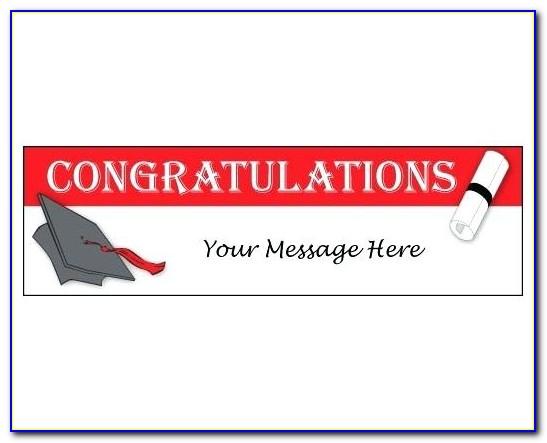 Congratulation Banner Templates
