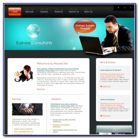 Consulting Firms Websites Templates
