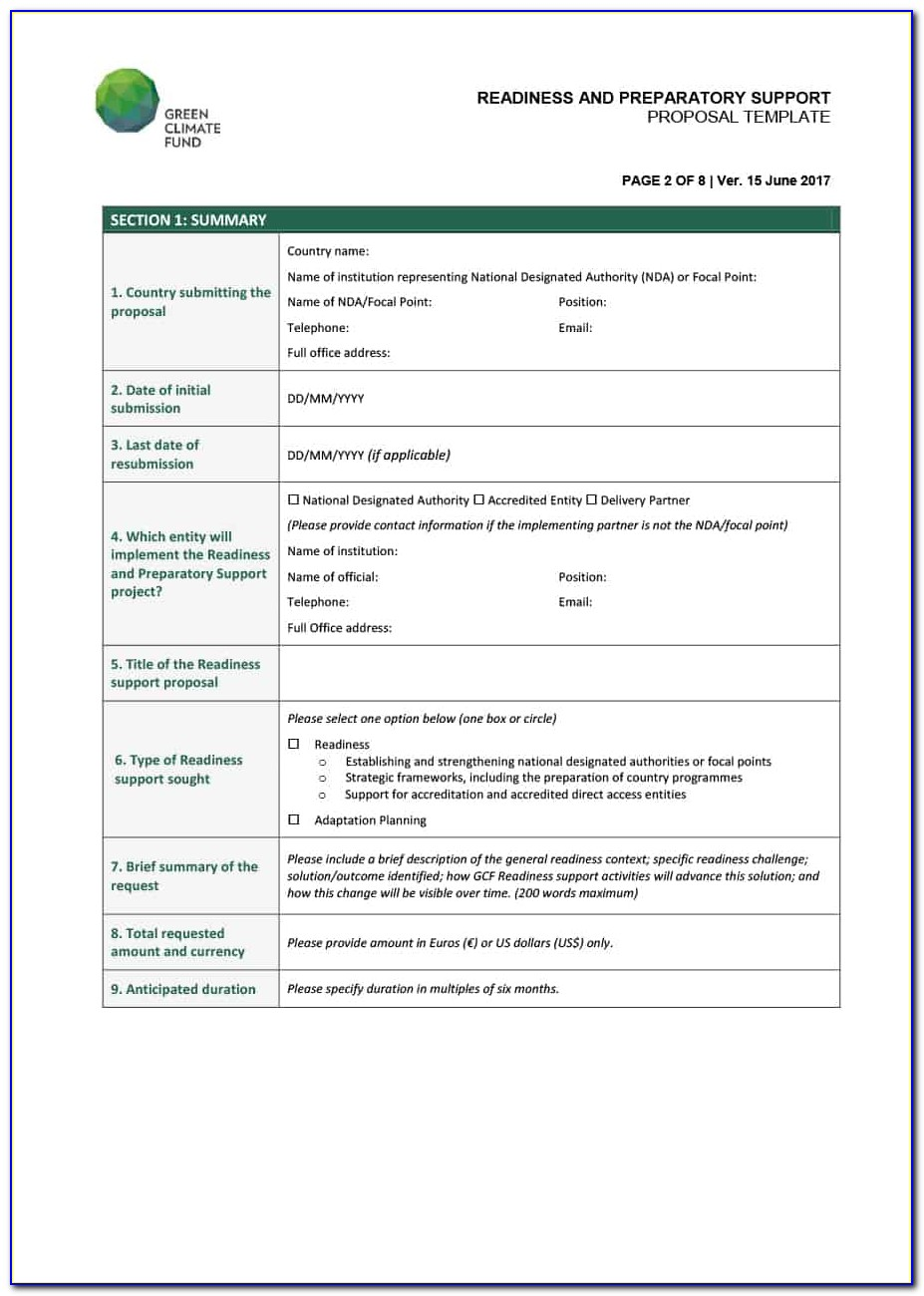 Consulting Proposal Template Pdf