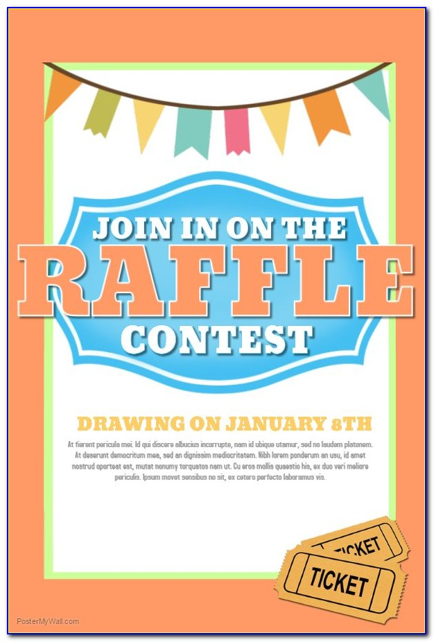 Contest Flyer Template Free