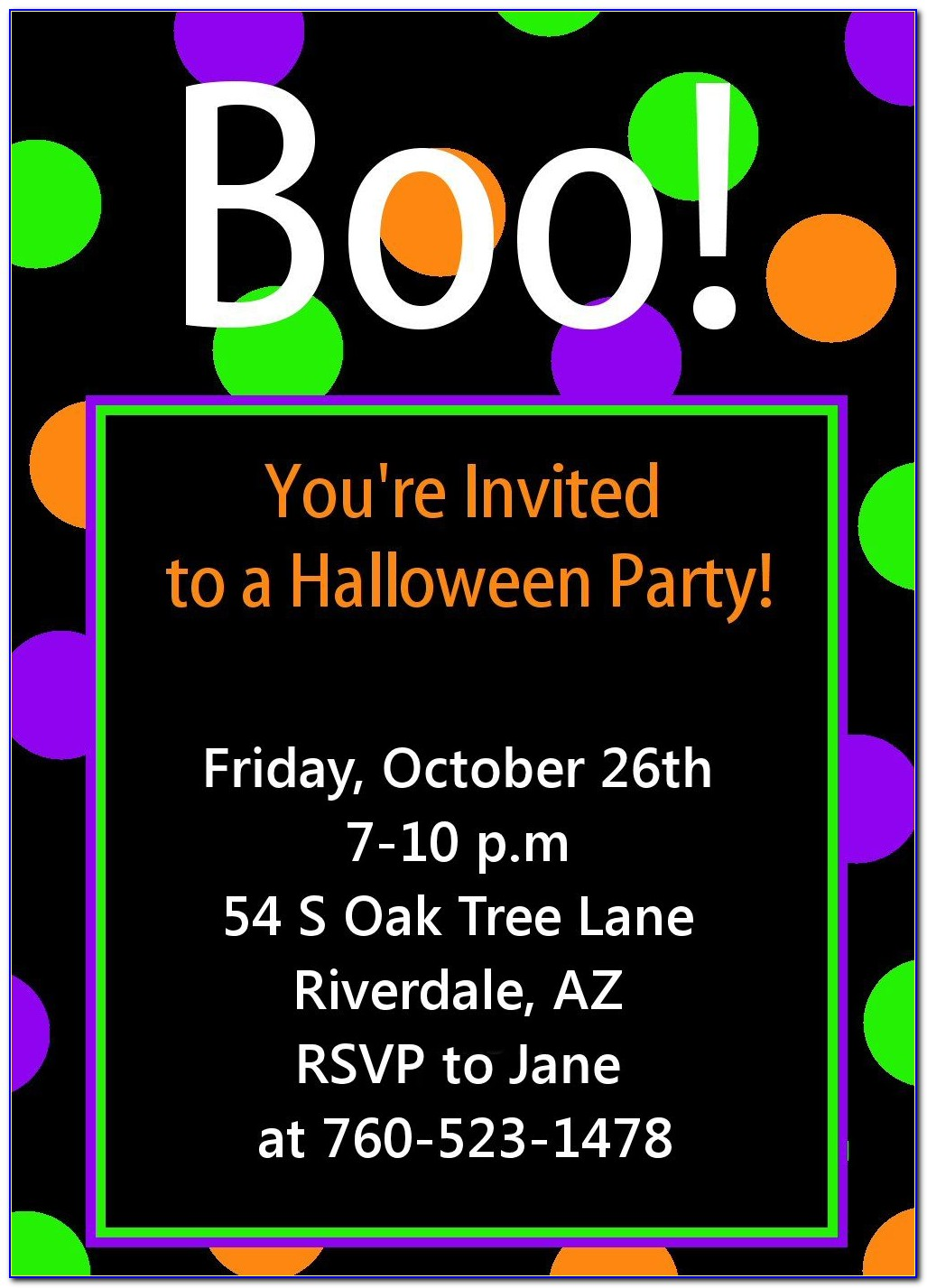 Costume Birthday Party Invitation Templates Free